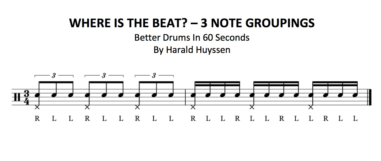 BETTER DRUMS IN 60 SECONDS – #BETTERDRUMS – Harald Huyssen